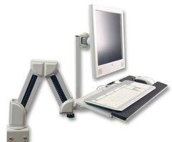 Ex-Pro Haltearm für TFT   LCD-Monitore und Tastaturarm   -ablage