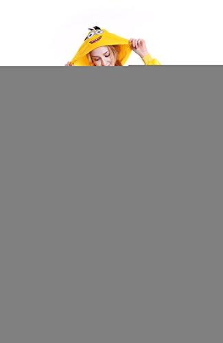 Yutown Unisex-adult Animal Onesie Pajamas Kigurumi Cosplay Costume Minion - Minion Costume Full