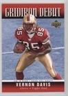 2006 Upper Deck Gridiron - Vernon Davis (Football Card) 2006 Upper Deck - Gridiron Debut #1GD-VD