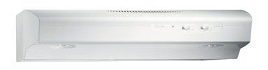 Broan QS130WW  220 CFM Under Cabinet Hood, 30-Inches, White
