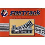 - Lionel LNL81252 O-31 FasTrack Manual Left-Hand Switch