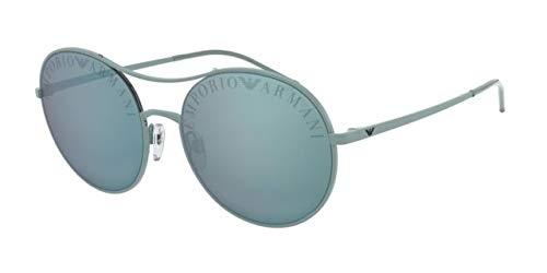 Emporio Armani 0EA2081 Gafas de sol, Matte Azure, 56 para ...