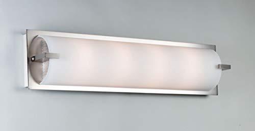 "Illuminating Experiences ELF4 Elf 2 Light 18"" Inch Wide ADA Compliant Bath Bar, Satin Nickel"