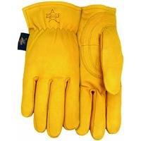 Professional Bull Rider (PBR) Premium Goatskin Leather Work Glove, Extra-Large, PB105