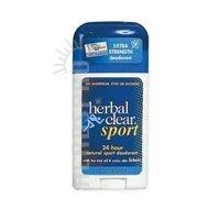 Herbal Clear 24 Hour Natural Sport Deodorant -- 1.8 oz (24 Sport Deodorant)