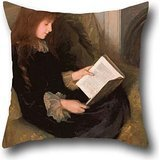 Oil Painting Florence Fuller - Inseparables Pillowcover 16 X 16 Inch / 40 By 40 Cm Gift Or Decor For Birthday,dining Room,club,chair,christmas,pub - Both Sides