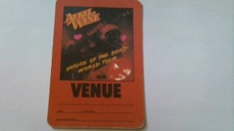 1981 April Wine Backstage Pass Venue Nature Of The Beast