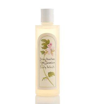 Rose Geranium Body Wash 8 oz by Bonny Doon Farm ()