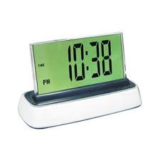 Moshi Elite Speak N Set Voice Activated Desk Clock by Moshi