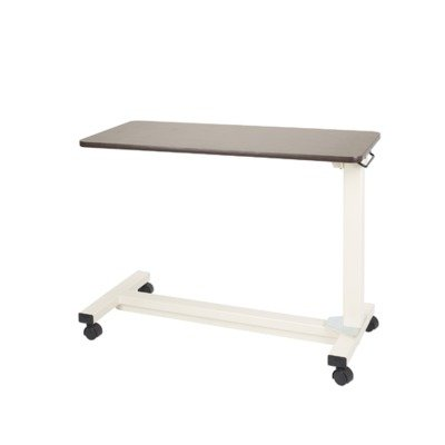 Drive Medical Bariatric Heavy Duty Overbed Table, Oak, 18'' x 40'' by Drive Medical