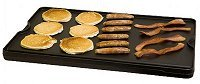 Camp Chef 's Reversible Pre-seasoned Cast Iron Grill & Griddle 24'' x 16'' for 3-Burner Stoves