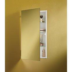 Jensen 869P34WHG Specialty Flush Mount Single-Door Recessed Mount Medicine Cabinet