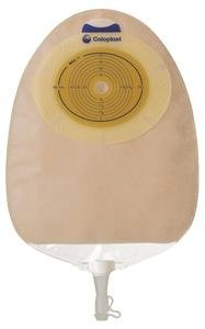 SenSura Xpro Convex Light Extended Wear Urostomy Pouch Pre-Cut 1-1/4'' Transparent