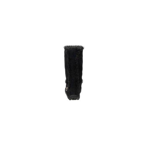Black Fur Mukluk Suede Boot Timberland On Women's Pull Yq6wgUP8