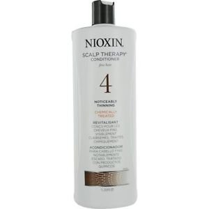Nioxin System 4 Scalp Therapy Conditioner for Fine Hair, Noticeably Thinning, 33.8 Ounce