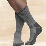 Maggie's Functional Organics Killington Mountain Hiker Socks Black 9-11 Size 9-11