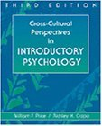 Cross-cultural Perspectives in Introductory Psychology by William Price (1998-09-24)