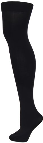Levante Super Matte Breathable Opaque Tights with Control Top nero xtall ()