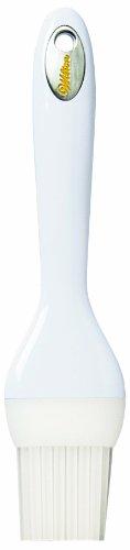 Wilton 409-6056 Silicone Pastry Brush, White by Wilton