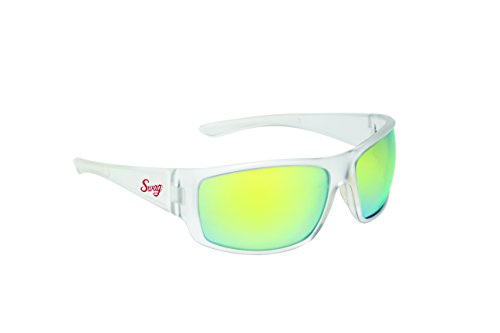 Swag Sunglasses Chillin' Series with Matte Clear Frosted Frames & Yellow G-Tech - Swag Sunglasses