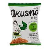 Okusno Fried Shrimp Heads Snack Green Curry Flavor-25g.(pack of - Uk Shop Graze