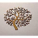 Hochzeit LaserKris Holz MDF Baum Form 150/mm Blanko G/ästebuch Laser Geschnitten 3/mm Dick Family Tree