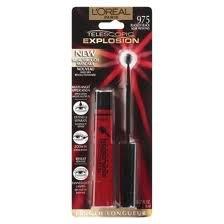 L'Oreal Telescopic Explosion Mascara - Blackest Black Noir Profond