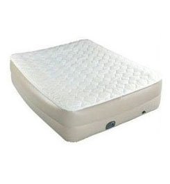 Coleman Queen Double-High Pillow-Top Airbed with Built-In Pump, Outdoor Stuffs