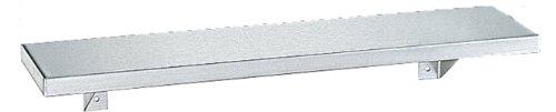 - Bobrick 295 Stainless Steel Shelf, Satin Finish, 24