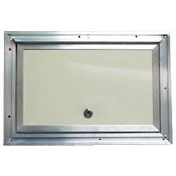 Interstate 11X14 White 11'' x 14'' Baggage Door