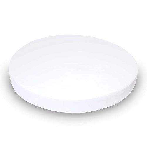 - SheetWorld 100% Cotton Jersey Round Crib Sheet, Solid White, 42 x 42, Made In USA