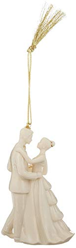 Lenox 869896 Annual China Ornaments 2017 Bride and Groom