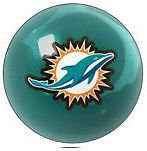 Miami Dolphins Billiard Ball - Miami Dolphins Shift Knob NFL (Teal)