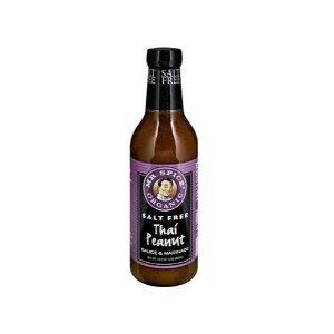 Mr Spice: Organic Salt Free Thai Peanut Sauce 10.5 Oz (12 Pack)