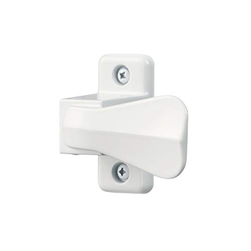 Ideal Security SK357W 357 Inside Latch for Storm and Screen Doors Includes Solid Nylon Strike, White