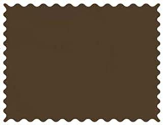product image for SheetWorld 100% Cotton Percale Fabric by The Yard, Solid Brown Woven, 36 x 44