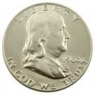 1960 Franklin Silver Half Dollar, Brilliant Uncirculated