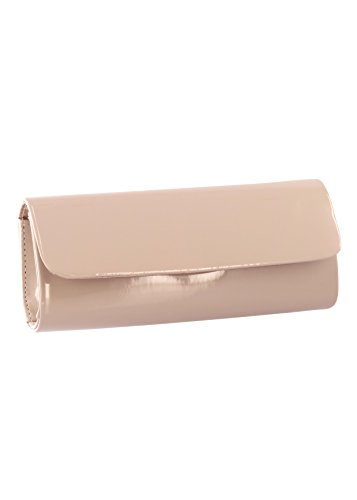 Leather B781 Nude Touch Patent Style Ups Clutch Rebel 055Oxwqa