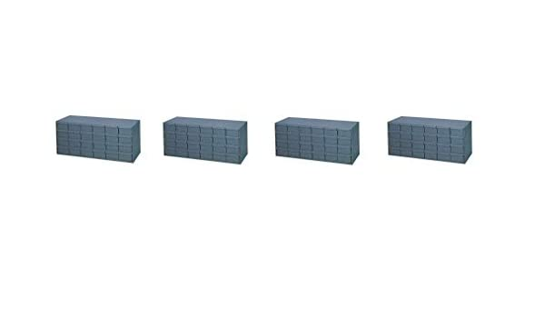 "Durham 007-95 Gray Cold Rolled Steel Storage Cabinet 33-3//4/"" Width x 14-3//8/"" ..."