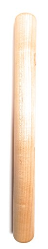 French Straight Rolling Pin, Wisconsin Hard Maple