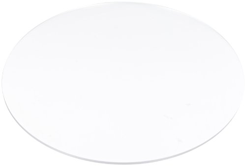 Forte Products 3030591 Clear Slip Sheet For Round Merchandiser, 17'' Diameter x 1/4'' Thick (Case of 5) by Forte Products