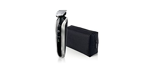 Philips Norelco WASHABLE Full Body Groomer with Exclusive ALL NEW Turbo Boost Feature & 8 Attachments Full-Size Metal Guard Trimmer, Bodygroom Foil Shaver, and Body Trimmer Comb, Precision Trimmer, with Hair Clipping Comb, Mini Foil Shaver, and Beard and  by Philips Norelco (Image #7)