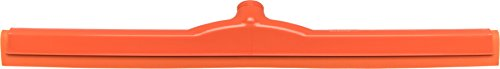 Carlisle 4156824 Spectrum Double Foam Rubber Floor Squeegee with Plastic Frame, 24'' Length, Orange by Carlisle (Image #2)