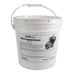 (White Sanded Grout - 25 LBS)
