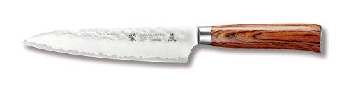 Tamahagane San Tsubame Wood SNH-1108 - 5 inch, 120mm Utility Knife by Tamahagane
