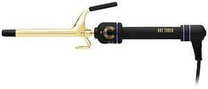 Hot Shot Tools Gold Series Spring Curling Iron 1/2 Inch (Hot Curling Shot Tools Wand)