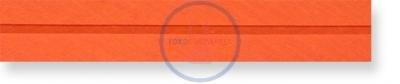 Schrägband Baumwolle 40/20 mm weiß