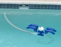 Strider Ss Automatic Pool Skimmer And Cleaner Swimming Pool Skimmers Patio