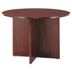 Huddle Table (Alera VA7142MY Valencia Round Conference Table with Legs, 29-1/2h x 42 dia, Mahogany)