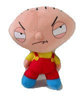 9in Stewie Griffin Plush Toy - Family Guy Stuffed Toys for cheap
